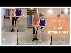 How To Developpe A La Seconde 2nd Ballet Dance Exercises EasyFlexibility - YouTube