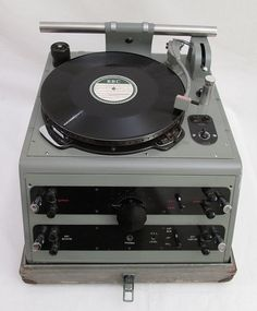 Late 1930's BBC Gramdeck / Turntable / Record player For OB's / Outside Broadcasts by -cinephonics