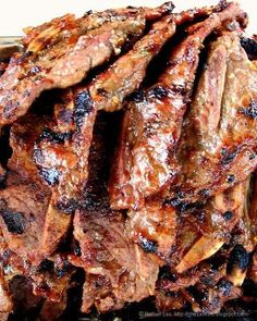 House of Annie: Killer Kalbi Recipe Ono Kine Recipes, Rib Recipes, Asian Recipes, Great Recipes, Cooking Recipes, Favorite Recipes, Hawaiian Recipes, Recipies, Asian Foods