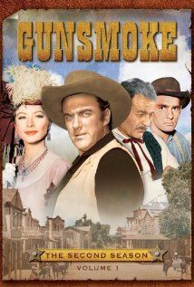Gunsmoke 1955-1975 Marshal Matt Dillon keeps the peace in the rough and tumble Dodge City, Kan. in 1873. His kindly companion was Doc Adams, the town physician who spent many hours chugging beers at the Long Branch Saloon, owned & operated by the shapely Kitty Russell. Dillon is a man who prefers the use of logic over the use of the gun but the nature of the people passing through Dodge doesn't always leave him that choice.