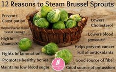 Eating Brussels sprouts as a side dish, instead of a higher calorie food, can help you manage your weight. They provide protein but lack several of the amino acids necessary to make it a complete protein like meat or dairy. So it is beneficial to include grains, like brown rice or whole wheat pasta, in your diet to obtain all the amino acids you need.