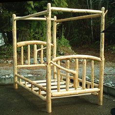 pictures of twin size rustic head board | amish rustic log furniture rustic log bunk beds pine bunkbed