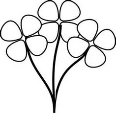image result for spring clipart free black and white clip art rh pinterest com free black and white flower clipart images free black and white flower clipart images