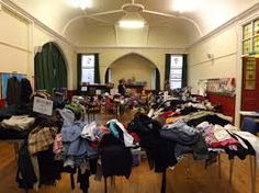 A blast from the past, Jumble Sale all the rage in the 1970s