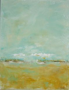 Quiet Afternoon, Etsy - Linda Donohue. Perfect painting for the living room or breakfast nook.  Beautiful.