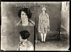 Portraits of Australian criminals in the years 1920 photo police sydney australie mugshot 1920 06 photo photographie histoire featured art