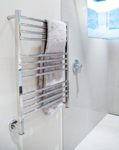 Jeeves Heated Towel Rails are energy efficient, handcrafted from 100% stainless steel and come with a 25-year guarantee. View our product range here.