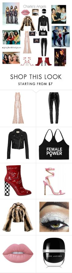 """""""Happy Friyay! New Blog Post on Monday 😘😘"""" by handlethisstyle ❤ liked on Polyvore featuring Farrah, Zuhair Murad, Anthony Vaccarello, River Island, Dolce&Gabbana, Vivienne Westwood, Lime Crime and Marc Jacobs"""