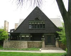 Frank Lloyd Wright Home and Studio. Oak Park IL. I frequently pass by this home, and it still amazes me!