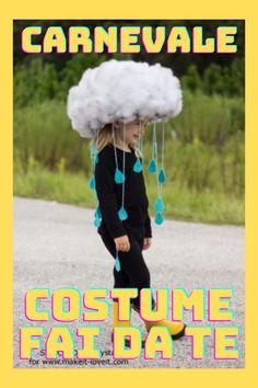 Divertimento, budget limitato e originalità sono assicurati… ecco tante idee per il vostro costume di carnevale e le istruzioni per realizzarlo! Kids Around The World, Smiley, Dressmaking, Haha, Costumes, Diy, Games, Outfit, Funny