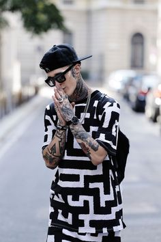 Jimmy Q / Milan / 2014 || Streetstyle Inspiration for Men! #WORMLAND Men's Fashion