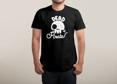 """Dead Pirate"" by mc bess on men's t-shirts 