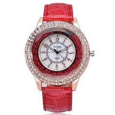 Ladies Crystal Diamond Rhinestone Watch Ženeva 0c5aed6ccd