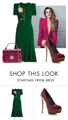 """#342"" by deboramarilla ❤ liked on Polyvore featuring By Boe, Dolce&Gabbana, Giuseppe Zanotti and Furla"