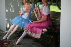 Ballerinas at rest - Photo shoot in St Petersburg FL with photographer Stacey Stormes