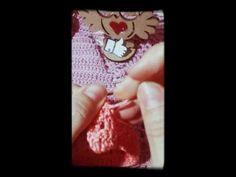 croped top em crochê (completo)