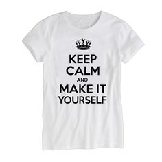 Idakoos Keep Calm and Love Orval Boy T-Shirt
