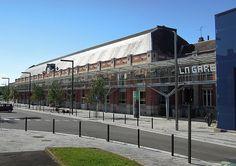 First work place. Jeumont, Gare numérique