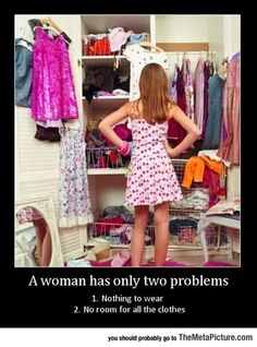 Every Woman Has Two Problems