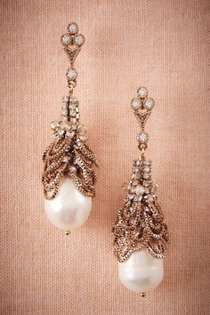 BHLDN Ura Crystal Chandeliers in  Shoes & Accessories Jewelry at BHLDN