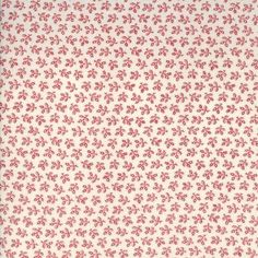Floral Gatherings Shirtings - Mini Pomegranates in Crimson (1105 11)  // Moda Fabrics at Juberry