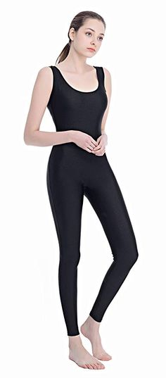 Amazon.com: Speerise Women Lycra Spandex Nylon Tank Dance Unitard Bodysuit, Brown, S: Clothing Fitted Jumpsuit, Full Body Suit, Barefoot Girls, Opaque Tights, Dance Fashion, Lycra Spandex, Catsuit, Leggings Fashion, Leotards