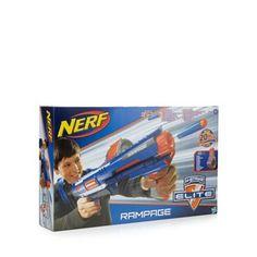 Nerf Nerf N-Strike Elite Rampage Blaster- at Debenhams. Dado, Debenhams, Gifts For Boys, Nerf, Toys, Gift Ideas, Christmas, Boy Gifts, Activity Toys
