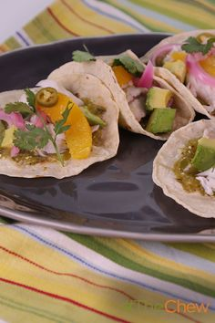Prepare Mario Batali's easy-to-male Roasted Fish Tacos for #TacoTuesday tomorrow! #TheChew