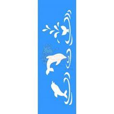 Stencil Golfinho 10x30 - OPA
