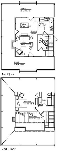 1000 Images About Cottage Plans On Pinterest Dog Trot