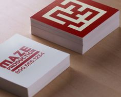 square business card printing, custom square business card printing