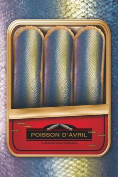 "Eclair au chocolat ""Poissoin d'Avril"" by Christophe Adam"