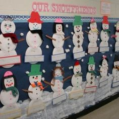 Kindergarten Christmas Bulletin Board Ideas