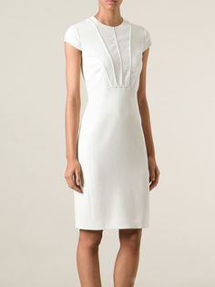 Emilio Pucci Panelled Bodice Fitted Dress - Spinnaker 141 - Farfetch.com