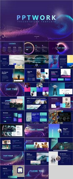 Multicolor Company PowerPoint template on Behance Powerpoint Design Templates, Professional Powerpoint Templates, Keynote Template, Ppt Design, Microsoft Powerpoint, Keynote Design, Powerpoint Charts, Graphic Design, Report Template