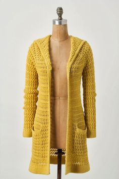 new crochet fashion . coats crochet cotton