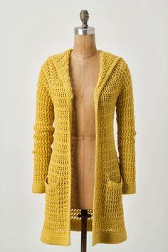 new crochet fashion . coats crochet cotton