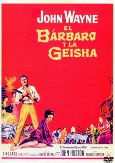 El bárbaro y la geisha (1958) EEUU. Dir: John Huston. Aventuras. S. XIX - DVD CINE 937