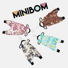MINIBOM Rompers are super comfy with plenty of space to move around like most kiddos do. If your little ones use cloth diapers these pants have a little extra width to fit fluffy bottoms. ♡ Recycled and organic cotton.    SHOP ➡ www.petronellanatalie.com