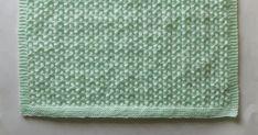 Free knitting and crochet patterns. Melika Baby Blanket