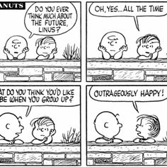 I choose outrageously happy!