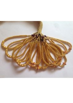 Gold Light Wt Kolhapuri Thushi Approx Wt- 4-6 Gram