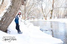 Winter Maternity Photos - so fun, but COLD!