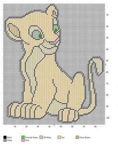 LION KING * NALA by JODY -- WALL HANGING