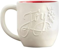 Christian Resources, Christmas Coffee, White Brand, Gifts For Family, Coffee Cups, Joy, This Or That Questions, Coffee Mugs, Glee