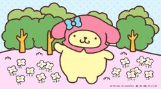 Have a look? It is a cute hood ♪ Wall Prints, Poster Prints, Sanrio Wallpaper, Pochacco, Sanrio Characters, Sanrio Hello Kitty, Room Posters, My Melody, Kawaii Art