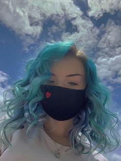 ARCTIC FOX HAIR COLOR  @peachgatsu what hair color should i do next u guys?? :3 #afaquamarine #afposeidon #bluehair #hairgoals #dyedhair #haircolor #hairdye #hair #blueaesthetic #aesthetic #aesthetics #hairinspo #inspo #quarantinehair #quarantinelooks #arcticfoxhaircolor Dyed Hair Blue, Hair Color Blue, Rainbow Hairstyles, Arctic Fox Hair Color, Luscious Hair, Bright Hair, Aqua Marine, Blue Aesthetic, Free Hair