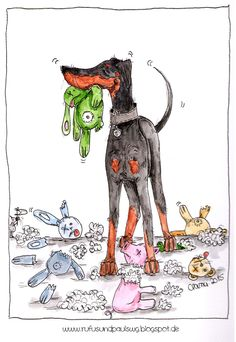 Müsst ihr sehen: Illustrationen von Rufus' und Pauls WG!