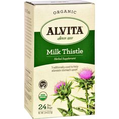 Alvita Tea Hrbl Milk Thistle Org ** Want to know more, click on the image. (This is an affiliate link and I receive a commission for the sales)