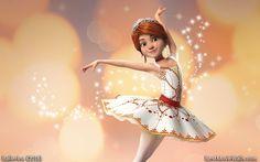 A gentle #Ballerina dancer in this #wallpaper :]